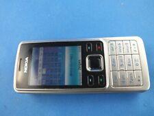 Original Nokia 6300 2MP Bluetooth Ohne Simlock Handy  Silber Schwarz OHNE Emfang