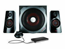 Trust GXT 38 2.1 Lautsprecher System 120W schwarz//rot