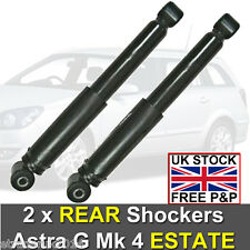 VAUXHALL ASTRA G MK4 ESTATE 1998 - 2004 REAR SHOCK ABSORBERS SHOCKERS x 2 NEW