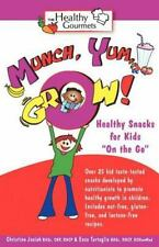 Munch, Yum, Grow! Healthy Snacks For Kids on The Go: By Christine Josiah, Enz...