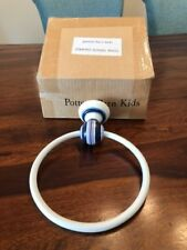 Pottery Barn Kids Striped Towel Ring Nib