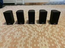 Bose Set Of 5 Jewel Cube Speakers - Black, great condition.