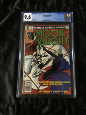 Moon Knight #9 CGC 9.6 NM+ - WHITE Pages Coming to MCU Netflix Series 2022!