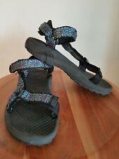 c9c8588c1395 Women s TEVA Blue Black Anckle Strap Hiking Sandals ...