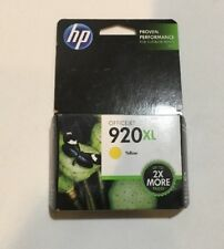 Ink Cartridge HP 920XL Yellow Officejet 6000 6500 6500A 7000 7500 7500A Expired