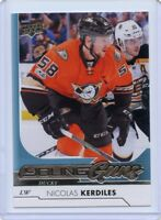 17/18 UPPER DECK YOUNG GUNS ROOKIE RC #241 NICOLAS KERDILES DUCKS *42872
