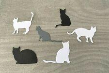 Stanzschablone/ Cutting dies Katzen Kätzchen Mieze, bis 2,5 x 4cm, 6-tlg