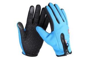 winter work gloves Waterproof anti slip keep warm screen touched gloves