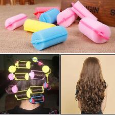 10PCS SLEEPING BENDY HAIR CURLERS SPONGE HAIR ROLLER LARGE PEAR HAIR TOOL SPONGE