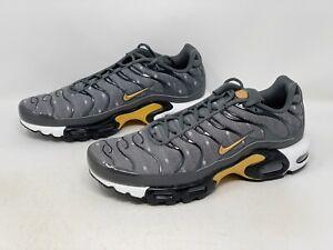Nike Air Max Plus 'Denim Twill' Gray Sneaker, Size 10 BNIB DM7570-002