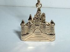 14k YELLOW GOLD WALT DISNEY MAGIC KINGDOM CASTLE CHARM