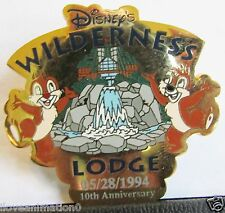 Disney Wilderness Lodge Chip and Dale Surprise Artist Proof Pin