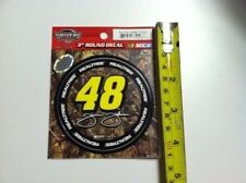 "# 48 Jimmie Johnson Camo 3"" Racing Decal Sticker Realtree Camouflage Nascar New"