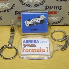 Aurora AFX G+ POLIFAC BMW INDY Slot Car Key Chain 1980s
