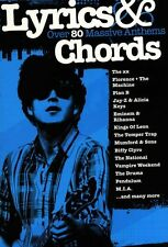 Lyrics & Chords Over 80 Massive Anthems Learn to Play Piano Guitar Music Book