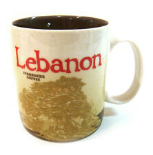 NEW Starbucks Mug Global icon Collectors series LEBANON 16 oz