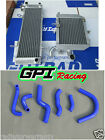 HONDA RVF400 NC35 or NC30 VFR400 Alloy Race Radiators and hoses