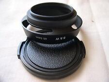 New Metal 40.5mm Screw-in Vented & Tilted Hood w/Cap