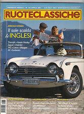 APRILE 2004 RUOTECLASSICHE N 184 GIULIETTA SPRINT FIAT 1500 MG TF JAGUAR XK 120