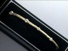 Bangle Bracelet Stackable 18k YG w/0.64cts Diamonds