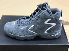 REEBOK Mobius Herren Basketball Leder Stiefel Schuhe grau Sneaker NEU CN7908
