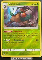 Carte Pokemon CHEVROUM 11/111 Holo REVERSE Soleil et Lune 4 SL4 FR NEUF