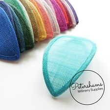 Teardrop Sinamay Fascinator Hat Base for Millinery & Hat Making