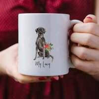 Custom Black Lab Mug Personalized Dog Mug Gift For Dog Mom Gift For Dog Dad Mug