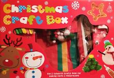 Big Box Of Christmas Craft Activities For Kids Make Your Own Cards Decorations