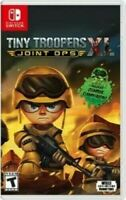 Tiny Troopers Joint Ops XL Nintendo Switch BRAND NEW, SEALED