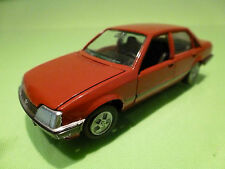 GAMA 1:43  -  OPEL REKORD LIMOUSINE  RED    NO= 1176  - EXCELLENT CONDITION.