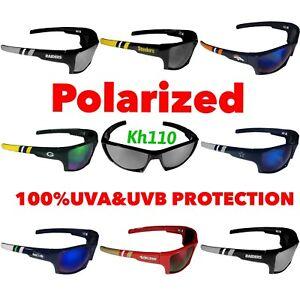 NFL Team Polarized Wrap Sunglasses-100% UVA/UVB protection