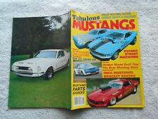 FABULOUS MUSTANGS Magazine-1981-SHELBY MUSTANG SECTION