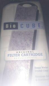 NEW Bio Cube 2 Aquarium Filter Cartridges Replalcements Fits sizes  8 , 14,  29