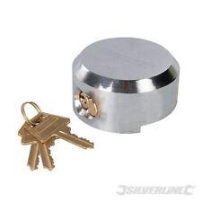 73 mm Shackleless Candado & 3 llaves de bloqueo de seguridad de reemplazo de acero disuasivo van
