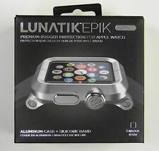 LUNATIK EPIK Aluminum Case and Silicone Strap for Apple Watch Series 1, 42mm