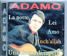ADAMO CD  stampa Italiana  LA NOTTE sigillato NUOVE REGISTRAZIONI