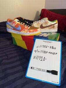 Nike Dunk Low Street Hawker Size 9.5