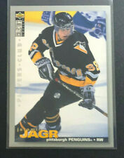 1995-96 Collector's Choice JAROMIR JAGR Player's Club Parallel #127 Penguins