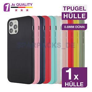 Premium TPU Gel Hülle Dünn Case für iPhone 12 11 X XS XR SE 8 7 Pro | Max | mini