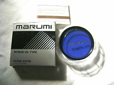 Marumi 62 mm 80A Camera Blue Color Lens Filter Made in Japan