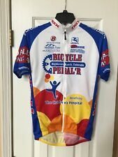 Cycling Jersey by Pactimo - Pedal Power Vail CO - Yellow   Blue - Men s  Small 91cbbf2c7