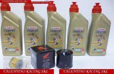 KIT TAGLIANDO HONDA CRF 1000 DCT AFRICA TWIN 5 LITRI olio CASTROL + FILTRO OLIO