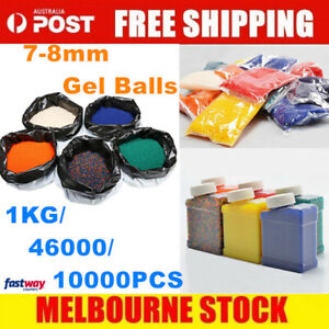 7-8mm Gel Balls Hardened Ammo Gel Blaster Toy 10,000 -460000 Blue Bullet 7mm