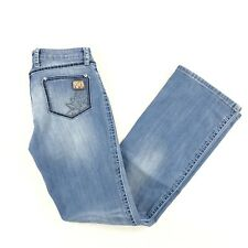 Wrangler Rock 47 Womens Jeans Low Rise Tagged 26/32 Actual 28/32