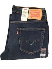 "NWT Men's Levis 541 Athletic Taper Stretch Dark Blue Jeans Size 31""x32���"