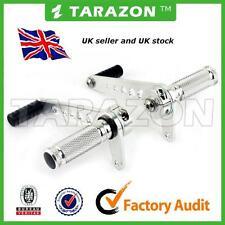 Tarazon universal rearsets. SILVER aluminium alloy  cafe racer.