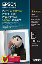 Epson Premium 5x7 Glossy Photo Paper - 30 Sheets