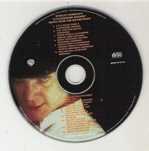 """Stanley Kubricks """"A CLOCKWORK ORANGE"""" - Music Soundtrack CD (New) - DISC ONLY"""