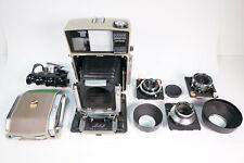 Linhof Technika 70 Kamera & Kreuznach 65mm F8.0,100mm F5.6,180mm F5.5 Objektiven